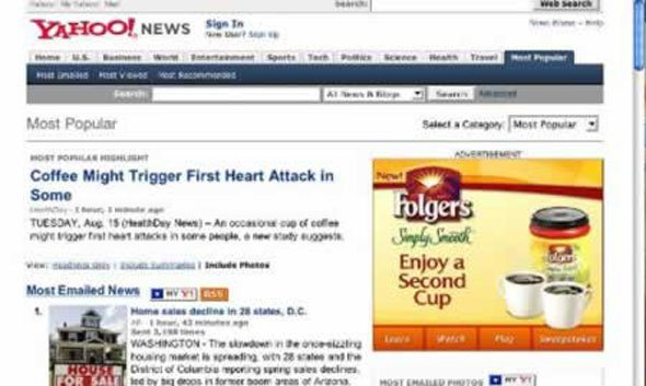 Funny online ads placement – Marketing Over-the-Counter